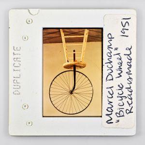 DUPLICAT Marcel Duchamp 'Bicycle Wheel' Readymade 1951 by Sebastian Riemer contemporary artwork