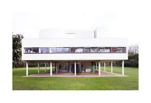 Villa Savoye [Le Corbusier - ©FLC/ADAGP] Poissy VIII 2018 by Candida Höfer contemporary artwork