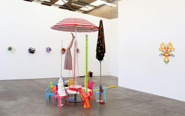 Exhibition view: Judy Darragh, Snow in Hawaii, Jonathan Smart Gallery, New Zealand (8 September–3 October 2020). Courtesy Jonathan Smart Gallery.