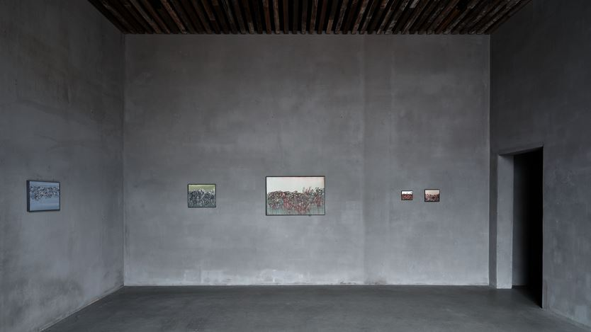 Exhibition view: Ida Barbarigo, Self-portraits / Cose che incantano, Axel Vervoordt Gallery, Antwerp (4 July–17 October 2020). Courtesy Axel Vervoordt Gallery.
