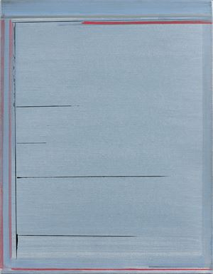 """Ecriture"" by Geneviève Asse contemporary artwork"
