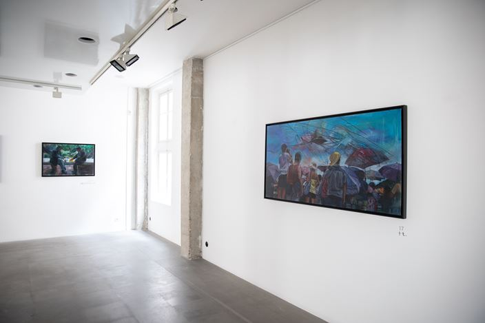 Exhibition view: Vivian Ho, I don't understand your sorrow, A2Z Art Gallery, Paris (20 June–20 July 2019). CourtesyA2Z Art Gallery.