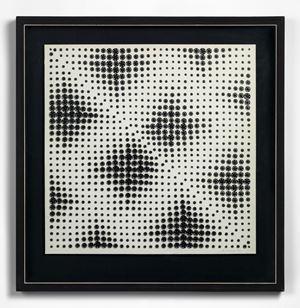 Variation: Two Triangles IV by Bela KOLAROVA contemporary artwork