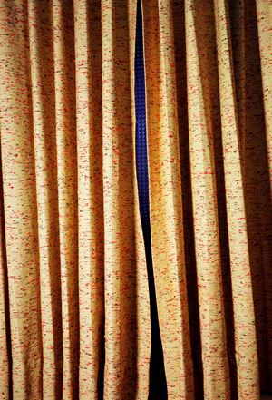 UNTITLED (CURTAINS, SLIT, NORMAN PETTY STUDIOS, NEW MEXICO) by William Eggleston contemporary artwork