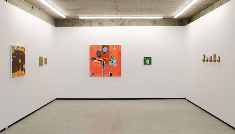 Exhibition view: Denys Watkins, If these walls could Talk, Jhana Millers, Wellington (5 August–28 August 2021). Courtesy Jhana Millers.