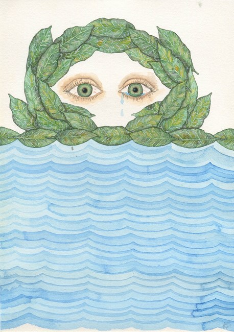 Teary Flood by Zina Swanson contemporary artwork