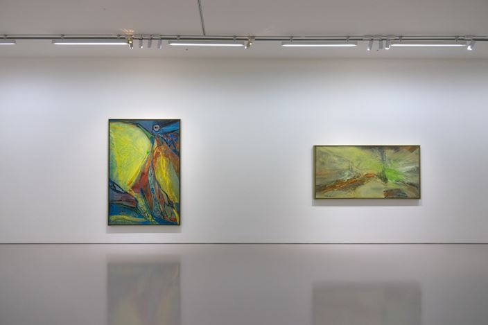 Exhibition view: Tommy Chen, A Trailblazer in Abstract Art, Eslite Gallery, Taipei (25 December 2020–30 January 2021). Courtesy Eslite Gallery.
