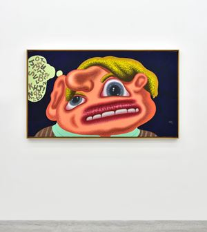 Modern Thinker by Peter Saul contemporary artwork