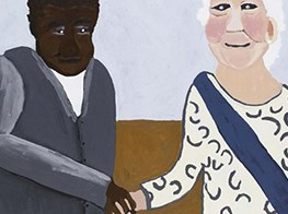 Younger Namatjira breaks from family style with bold, fresh paintings