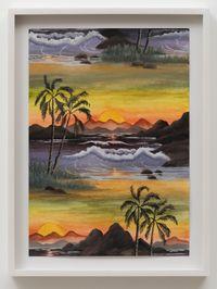 Balmy Beach (Huevos Rancheros) by Neil Raitt contemporary artwork painting, works on paper
