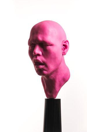 Rostro Ah by Francisco Esnayra contemporary artwork sculpture