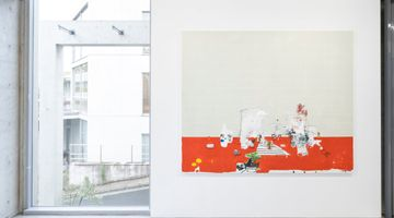 Contemporary art exhibition, Brian Harte, 8 Paintings ( from the midlands ) at MAKI, Omotesando, Tokyo