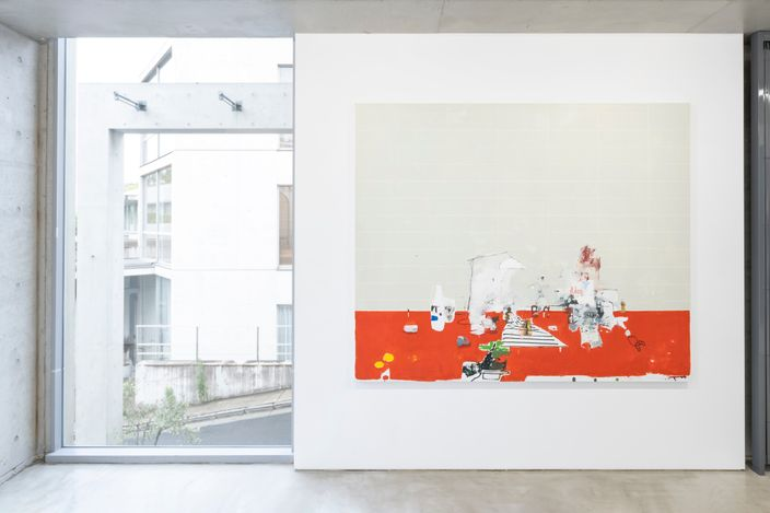 Exhibition view: Brian Harte,8 Paintings ( from the midlands ), MAKI Gallery Tokyo, July 10 - August 7. All images: Courtesy of MAKI