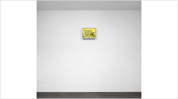 Contemporary art exhibition, Sam Durant, One Wall One Work: consider LISTENING at Krakow Witkin Gallery, Boston