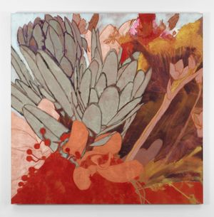 Winter Flowers IV by Francesco Clemente contemporary artwork
