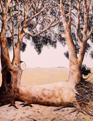 Uprooted by William Mackinnon contemporary artwork