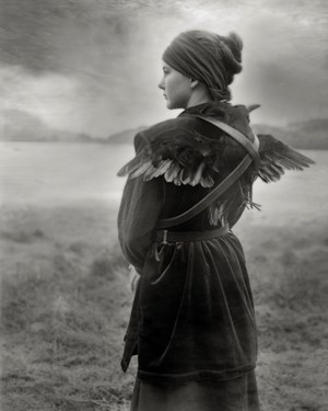 Last Comes the Raven by Beth Moon contemporary artwork