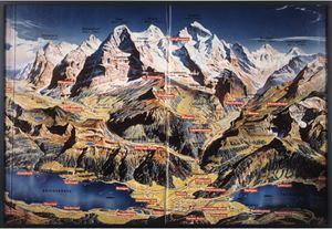 HEIDI FILE Interlaken, Grindelwald, Eiger, Jungfrau by Paul McCarthy contemporary artwork