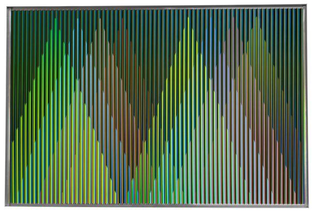 Physichromie Panam 229 by Carlos Cruz-Diez contemporary artwork