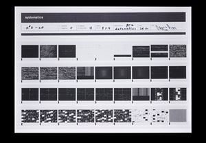 systematics [n˚6-20] by Ryoji Ikeda contemporary artwork