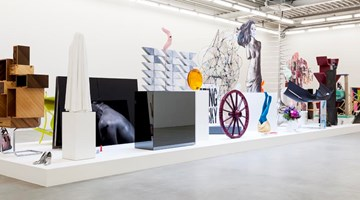 Almine Rech contemporary art gallery in Brussels, Belgium