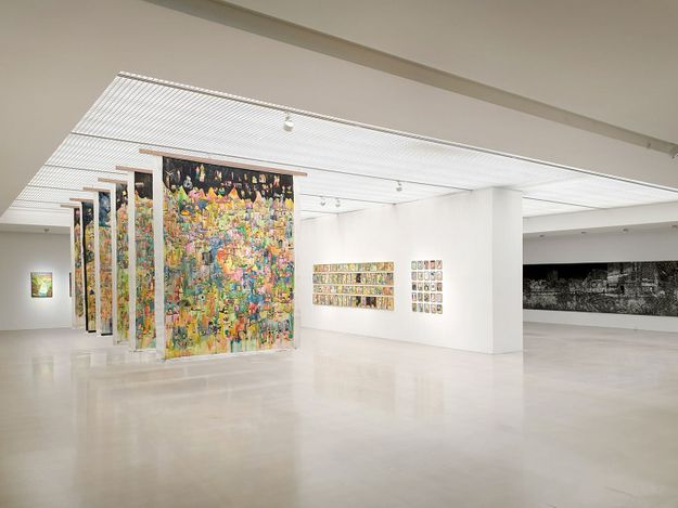 Exhibition view: Group Exhibition,The 13th Hesitation, ARARIO GALLERY Cheonan (13 April 2021–27 March 2022). Courtesy ARARIO GALLERY.