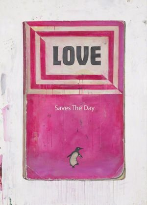 Love Saves the Day by Harland Miller contemporary artwork