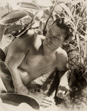 Johnny Weissmuller by Cecil Beaton contemporary artwork