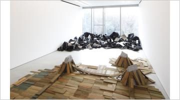 Contemporary art exhibition, Robert Morris & Kishio Suga at Blum & Poe, Tokyo