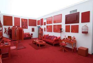Desvio para o Vermelho: Impregnação, Entorno, Desvio by Cildo Meireles contemporary artwork