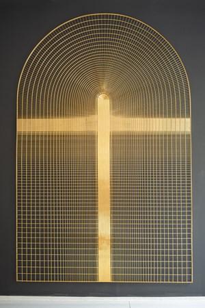 NACA0012 Airfoil A by Zheng Lu contemporary artwork