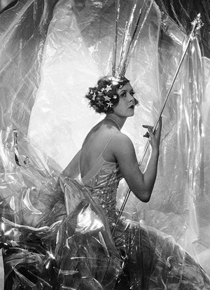Nancy Beaton as a Shooting Star for the Galaxy Ball by Cecil Beaton contemporary artwork