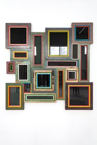 Usefulness of Uselessness – Black Window No. 03 by Song Dong contemporary artwork sculpture