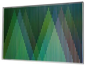Physichromie Panam 229 by Carlos Cruz-Diez contemporary artwork