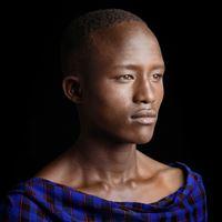 Kenya - Portrait 4 by Jean-Baptiste Huynh contemporary artwork photography