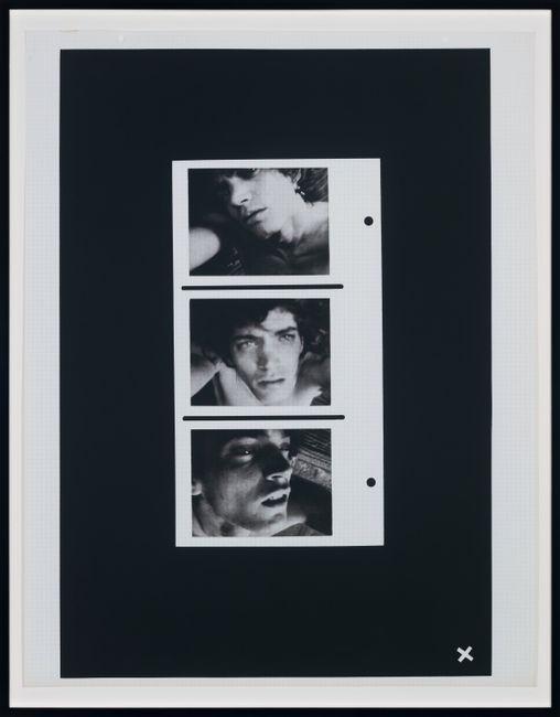 Self-Portrait (Triptych) by Robert Mapplethorpe contemporary artwork
