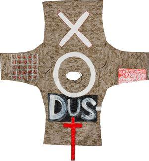 EXODUST (I) by Fiona Hall contemporary artwork painting