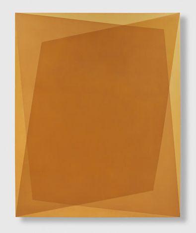 Onya McCausland, 54°34 07.37 N 0°57 42.87 W / NO. 3 (2019). Pigment in oil on canvas. 167 x 136 cm. Courtesy Karsten Schubert London.