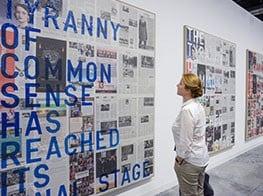 Politics and commerce collide at Art Basel Miami Beach