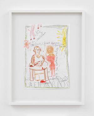Homage Genre, Retablos by Rose Wylie contemporary artwork