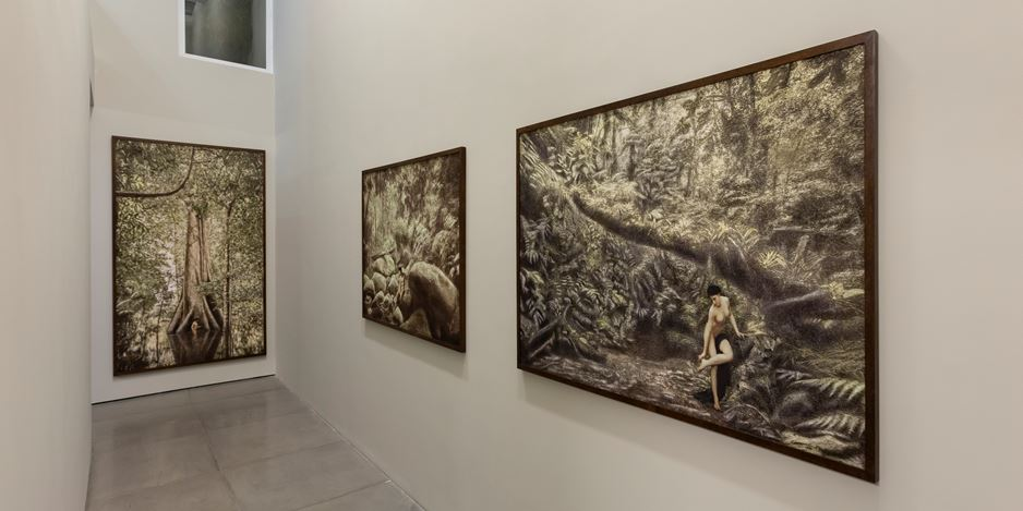 Exhibition view: Cássio Vasconcellos, Dryads and Fauns, Rio de Janeiro, Galeria Nara Roesler (5 March–31 July 2020). Courtesy Galeria Nara Roesler.