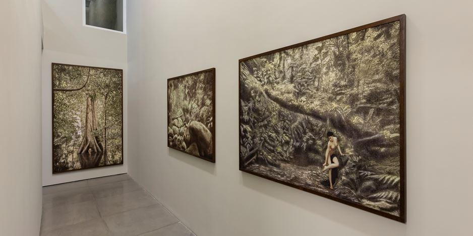 Exhibition view: Cássio Vasconcellos, Dryads and Fauns, Rio de Janeiro,Galeria Nara Roesler (5 March–31 July 2020). Courtesy Galeria Nara Roesler.