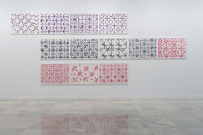 Tribute to Matisse by Zoulikha Bouabdellah contemporary artwork