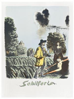 Schilfer by Neo Rauch contemporary artwork