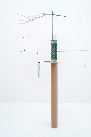 Model for a Poem in Rhyme by Sarah Sze contemporary artwork
