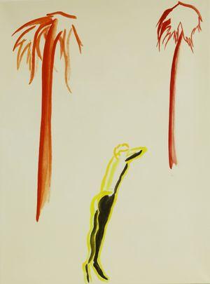 Coconut Tree by Yan Bingqian contemporary artwork