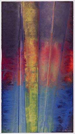 Sam Gilliam, Untitled (2019). © Sam Gilliam / 2020 Artists Rights Society (ARS), New York. Courtesy Pace Gallery.