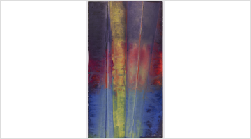 Contemporary art exhibition, Sam Gilliam, Watercolors at Palm Beach, USA