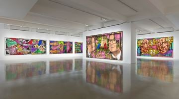 Contemporary art exhibition, Gilbert & George, THE PARADISICAL PICTURES at Sprüth Magers, Los Angeles