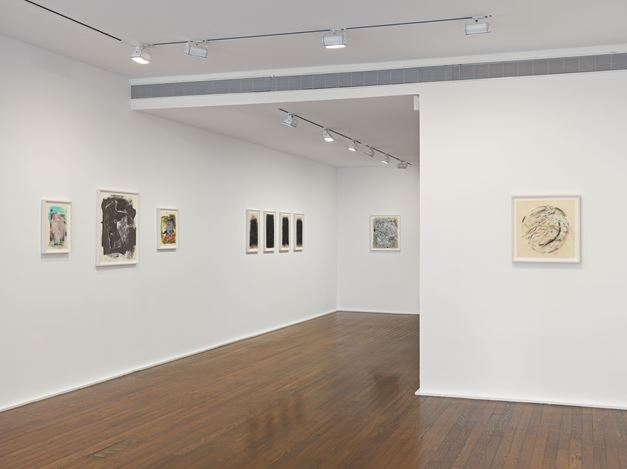 Exhibition view: Jack Whitten, Jack Whitten.Transitional Space. A Drawing Survey, Hauser & Wirth, 69th Street, New York (28 January–4 April 2020). © Jack Whitten Estate. Courtesy the Jack Whitten Estate and Hauser & Wirth. Photo: Genevieve Hanson.